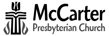 McCarter Presbyterian Church Logo